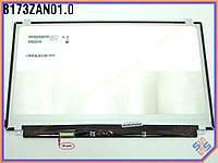 "Матрица 17.3"" Dell Alienware 17r3 ( B173ZAN01.0) характеристики:  eDP LED Slim (3840*2160 UltraHD, 40Pin eDP (6bit) слева внизу, ушки сверху снизу)"