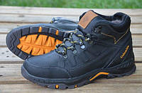 Мужские кожаные ботинки Columbia Коламбия на меху