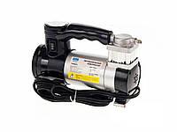 Компрессор автомобильный 12 Amp, 35 л, 12 v, прикуриватель, фонарь Тайфун КА-T12021 + переходник