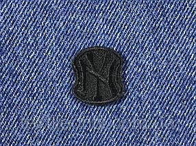 Нашивка New York s колір чорний 20x23 мм