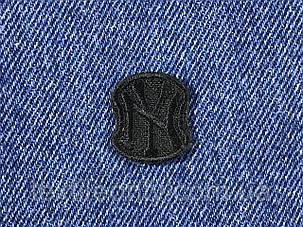 Нашивка New York s  цвет черный 20x23 мм, фото 2