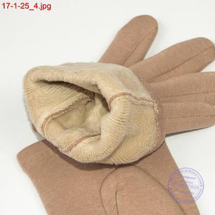Оптом подростковые перчатки для сенсорных телефонов с совой - №17-1-25, фото 3