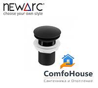 Донный клапан Newarc 740772CB черный