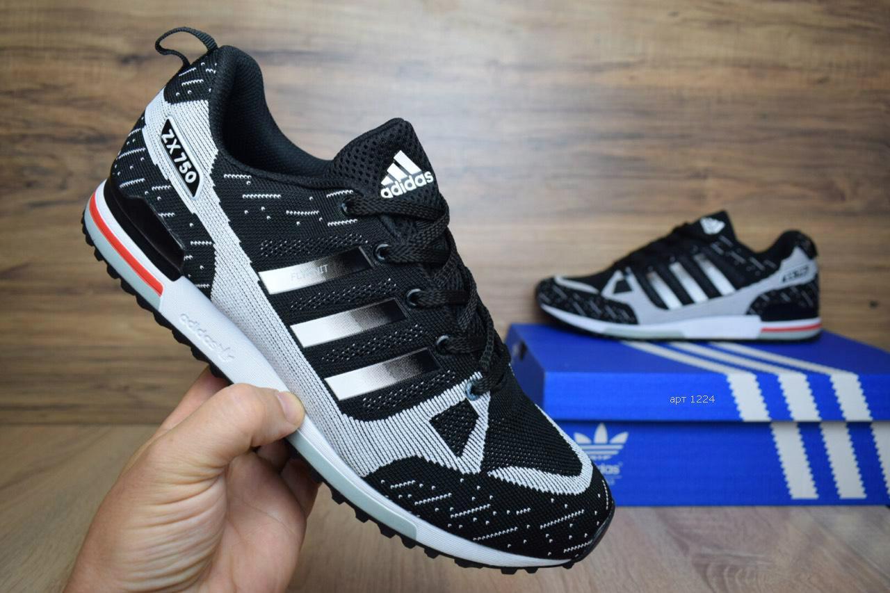 faa21b2e Мужские повседневные кроссовки Adidas ZX 750 реплика (реальные фото ...