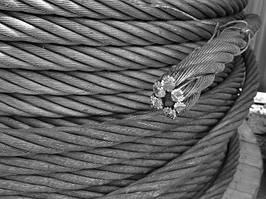 Канат (трос) стальной диаметр 6,7 мм ГОСТ  7668-80 от ГОСТ МЕТАЛЛ