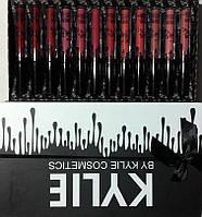 Мега-набор матовых жидких помад 12 штук Kylie Matte Lipstick