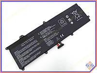 Батарея для ноутбука ASUS C21-X202 S200E, X202E, X201E, Q200E series (7.4V 5000mAh Black).