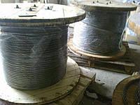 Канат (трос) стальной диаметр 7,4 мм ГОСТ  7668-80 от ГОСТ МЕТАЛЛ