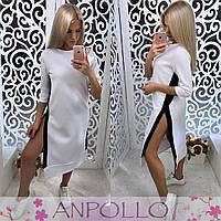 303b712a8bb Красивое платье с потайными молниями на боках в расцветках АА-009.029
