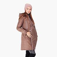 Зимняя Слингокуртка Капучино 3 в 1 Куртка Вставка для беременных Cлингокомплект L & C Пальто колекция S M L XL