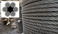 Канат (трос) стальной диаметр 9,0 мм ГОСТ  7668-80 от ГОСТ МЕТАЛЛ