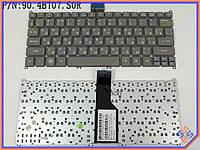 Клавиатура для ноутбука ACER Aspire S3, S5, ONE 756, 725 TravelMate B1 ( RU Gray ). Оригинальная клавиатура. Русская раскладка.