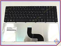 Клавиатура для ноутбука ACER Aspire E1-531, E1-531G, E1-571G, E1-521, E1-531,  E1-571 ( RU Black матовая ) Оригинальная клавиатура. Русская раскладка.