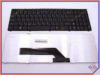 Клавиатура для ноутбука ASUS K61 ( RU black Старый дизайн). Оригинальная клавиатура. Русская раскладка. Цвет Черный.
