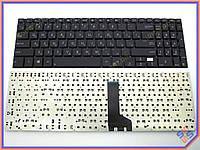 Клавиатура ASUS P500CA ( RU Black без рамки ). Оригинальная. Русская. Цвет Черный.