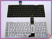 Клавиатура для ноутбука ASUS X450V ( RU Black без рамки). Оригинальная клавиатура. Русская раскладка. Цвет Черный.