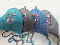 Трикотажная шапочка для малыша 42-44