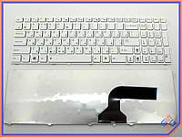 Клавиатура для ноутбука ASUS K54 ( RU White ). Оригинальная клавиатура. Русская раскладка. Цвет Белый.
