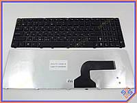 Клавиатура ASUS G51 ( RU Black ). Черная рамка.