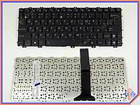 Клавиатура ASUS EEE PC X101H ( RU Black без рамки с горизонтальным Enter!!!). Оригинальная. Цвет Черный.