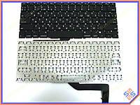 Клавиатура для ноутбука APPLE Macbook Pro A1398 MC975, MC976(2012) (RU BLACK, Горизонт. Enter, под версию с подсветкой). Оригинальная новая.