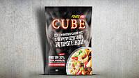 Каша CUBE рис з морепродуктами та протеїном 30%,  (50г)