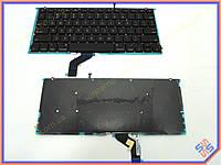 Клавиатура для ноутбука APPLE Macbook PRO A1425, A1502 (2012) (US BLACK) с подсветкой клавиш. Оригинальная новая.