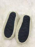 Тапки женские с задником на резиновой подошве, фото 9