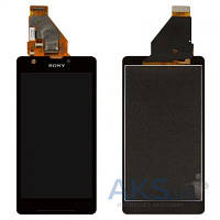 Дисплей (экран) для телефона Sony Xperia ZR M36h C5502, Xperia ZR M36i C5503 + Touchscreen Original Black