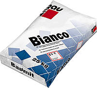 Клей для плитки из мозаики и мрамора Baumit Bianco, 25 кг