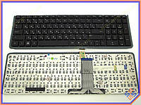 Клавиатура HP ENVY 17  Series ( RU  Black с подсветкой, без рамки). Оригинальная. Русская. Цвет Черный.