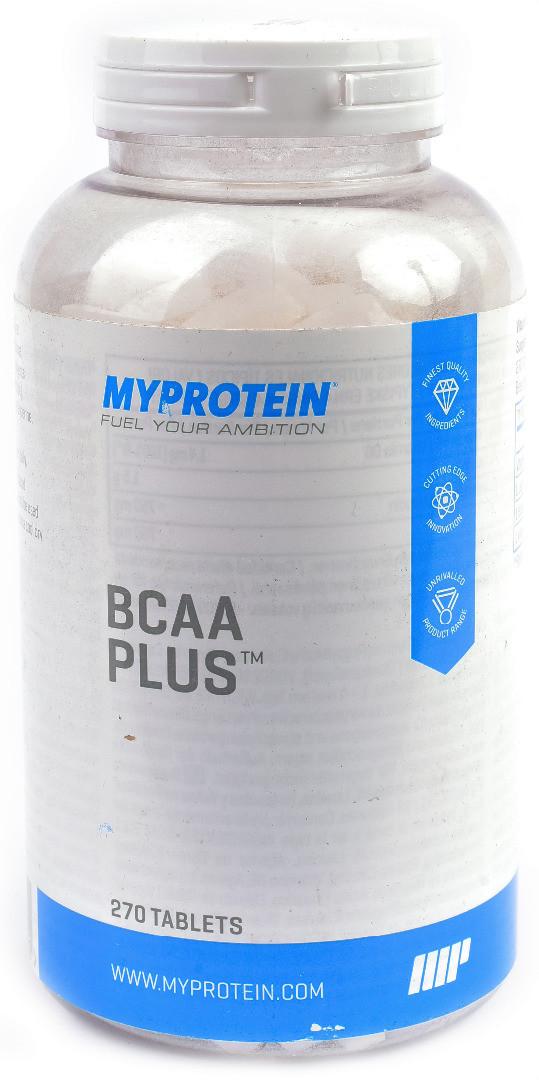 MyProtein BCAA+ 270 tab, МайПротеин БЦА+ 270 таблеток