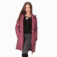 Зимняя Слингокуртка Роуз Марсала 3 в 1 Куртка Вставка для беременных Cлингокомплект L & C Пальто (42 L 44), фото 1