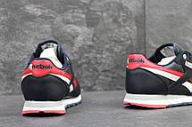 Мужские кроссовки Reebok кожаные,синие, фото 3