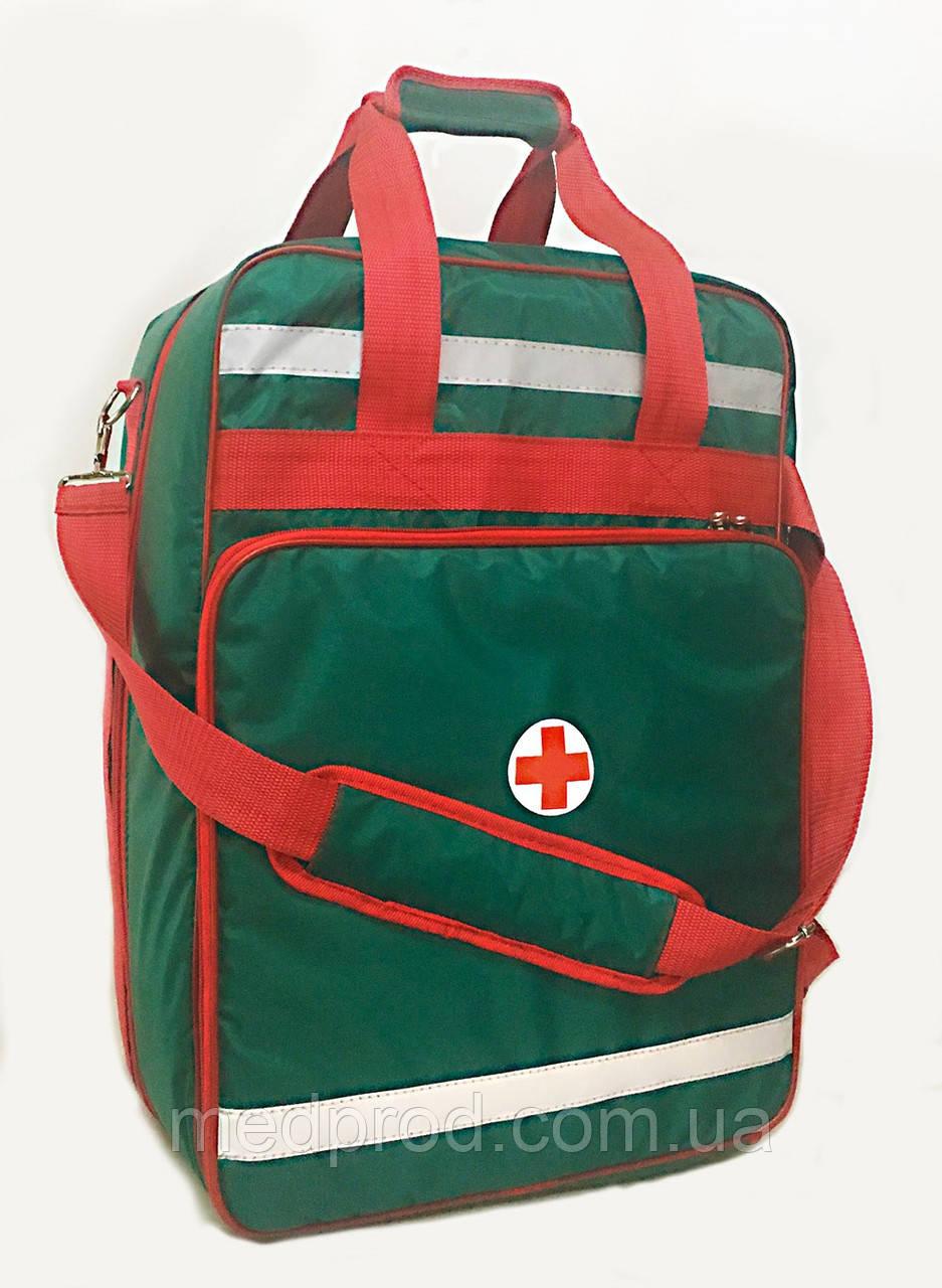 Рюкзак спасателя универсальная сумка медицинская 35х25х51 со вкладышами