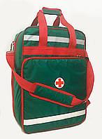 Рюкзак спасателя универсальная сумка медицинская 35х25х51 со вкладышами, фото 1