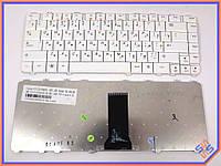 Клавиатура LENOVO IdeaPad Y550 ( RU White ). Оригинальная. Русская раскладка. Цвет Белый.