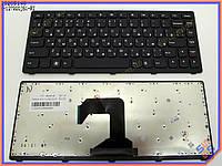 Клавиатура для ноутбука LENOVO IdeaPad S300 S400 S405 S415 M30-70 S40-70 M40 Series ( RU Black,  Черная рамка ). Оригинальная клавиатура. Русская
