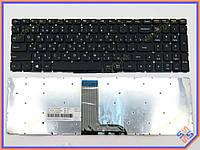 Клавиатура для ноутбука LENOVO YOGA 500-15, 500-15IBD, 500-15ISK, Flex 3-1570( RU Black, без рамки) . Оригинальная клавиатура. Русская раскладка.