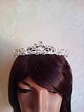 Корона, диадема, тиара, высота 3,5 см., фото 3