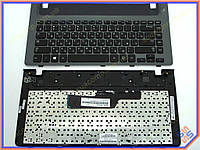 Клавиатура Samsung 350V4C Series ( RU Black, Серая рамка, For Win8 ). Оригинальная. Русская раскладка. Цвет Черный