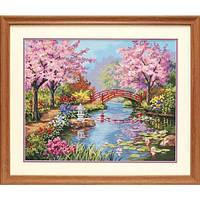 "91415 • Набор для рисования красками по номерам ""Японский сад"" • ""Japanese Garden"" Dimensions Paint Works"
