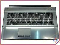 Клавиатура для ноутбука Samsung RC711 ( RU Black с крышкой корпуса ). Оригинальная клавиатура. Русская раскладка. Цвет Черный