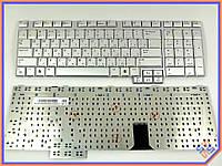 Клавиатура для ноутбука Samsung M70 ( RU Silver). Оригинальная клавиатура. Русская раскладка. BA59-01606