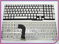 Клавиатура для ноутбука SONY SVS15  ( RU Silver без рамки). Оригинальная клавиатура. Русская раскладка.