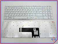 Клавиатура для ноутбука SONY FIT15E SVF15E SVF151 SVF152 SVF153 SVF154 SVF15A ( RU White без рамки). Оригинальная клавиатура. Русская раскладка.