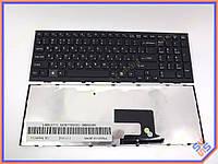 Клавиатура для ноутбука SONY VPC-EE Series ( RU Black с рамкой). Оригинальная клавиатура. Русская раскладка.