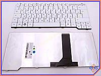 Клавиатура для ноутбука Fujitsu ES V6545 ( RU White ). Оригинальная клавиатура. Русская раскладка. Цвет белый