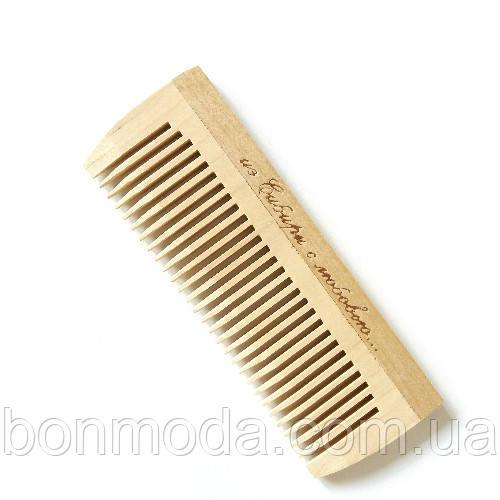 Расческа деревянная для волос (125mm / 27 зубьев)