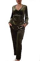Велюровые брючные костюмы My BB лот12шт(6костюмов) по 15Є